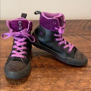 Converse Chuck Taylor All Star Junior Hi Top Shoes